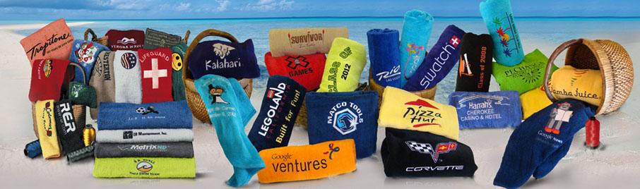 personalized beach towel tutorial